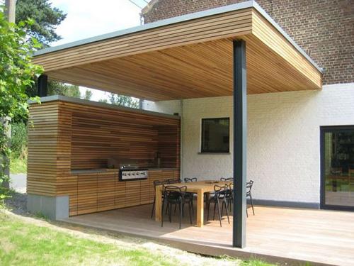 Étonnant Les avantages d'une terrasse couverte – Terrasse en bois DR-19